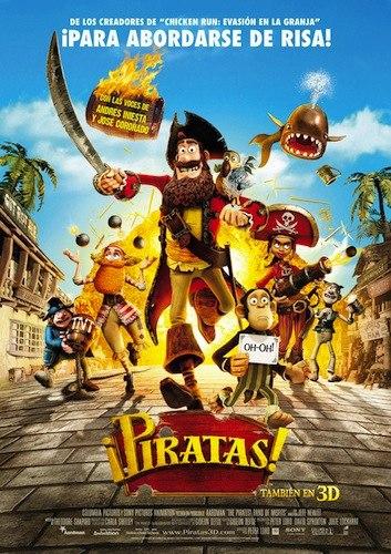 Piratas 2012 - peliculas infantiles