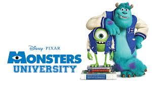 monstruos university - peliculas infantiles